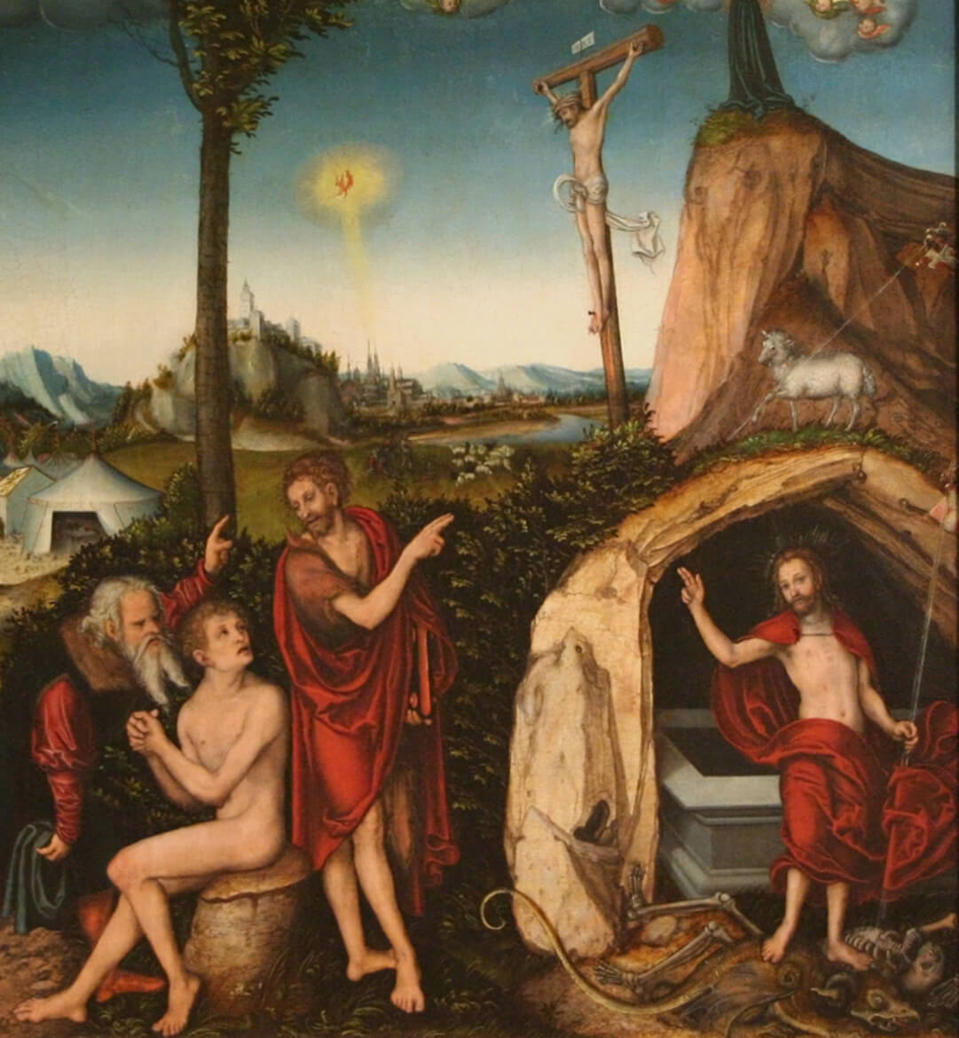 Lucas Cranach - The Law and the Gospel