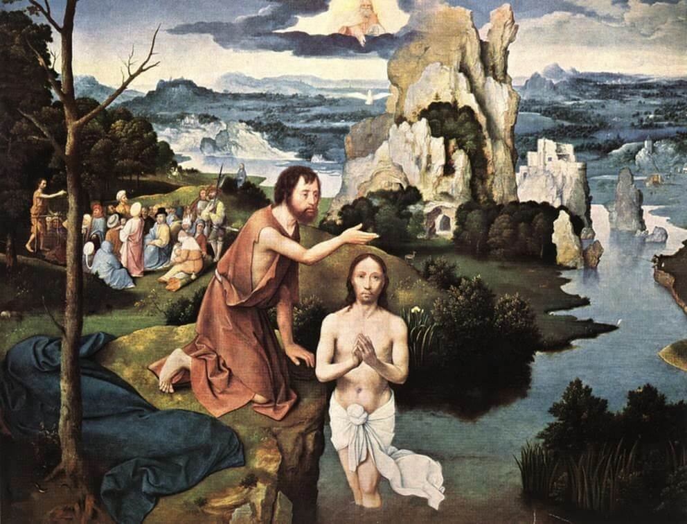 Joachim Patinir - Baptism of Christ
